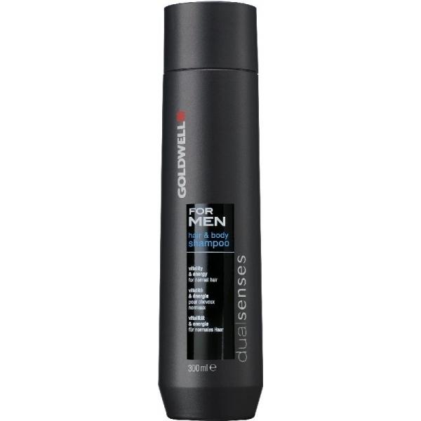 Мужской шампунь для волос и тела